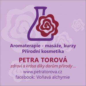 Voňavá domácí lékárnička s Petrou Torovou @ Kosmetika hrou Praha | Hlavní město Praha | Česko